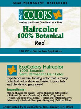 EcoColors 100% Botanical Hair Color