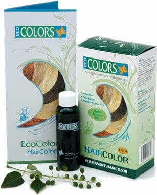 Buy EcoColors Natural Hair Color Kits PPD Free Gluten free